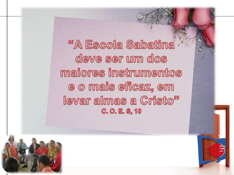 Os 4 Objetivos da Escola Sabatina 1.- Estudo da Bíblia, 2.- Confraternização, 3.- Testemunho Missionário à Comunidade e 4.- Ênfases nas Missões MundiaisEvangelismoInternoEvangelismoInterno EvangelismoExternoEvangelismoExterno