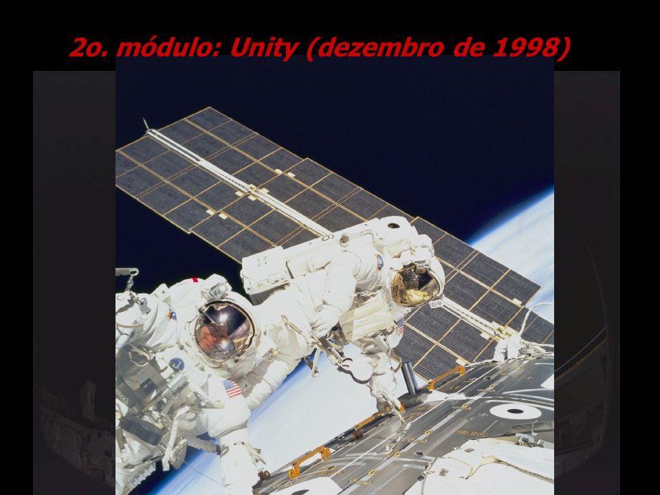 2o. módulo: Unity (dezembro de 1998)