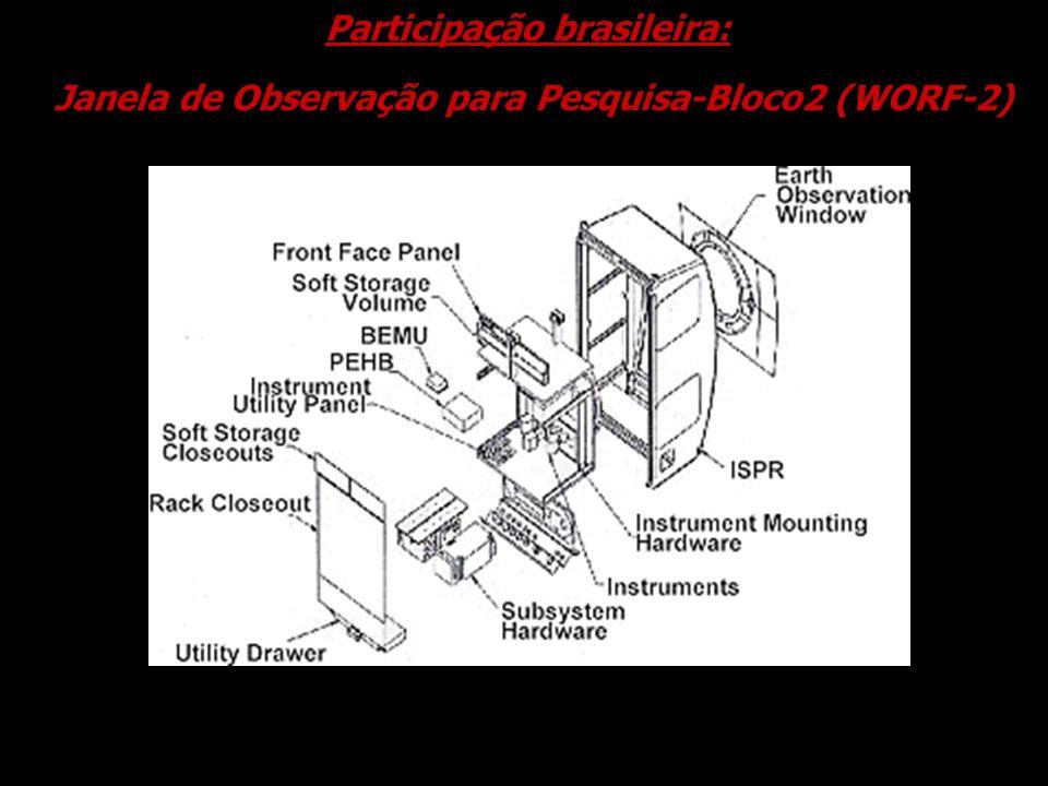 Janela de Observação para Pesquisa-Bloco2 (WORF-2) Participação brasileira: