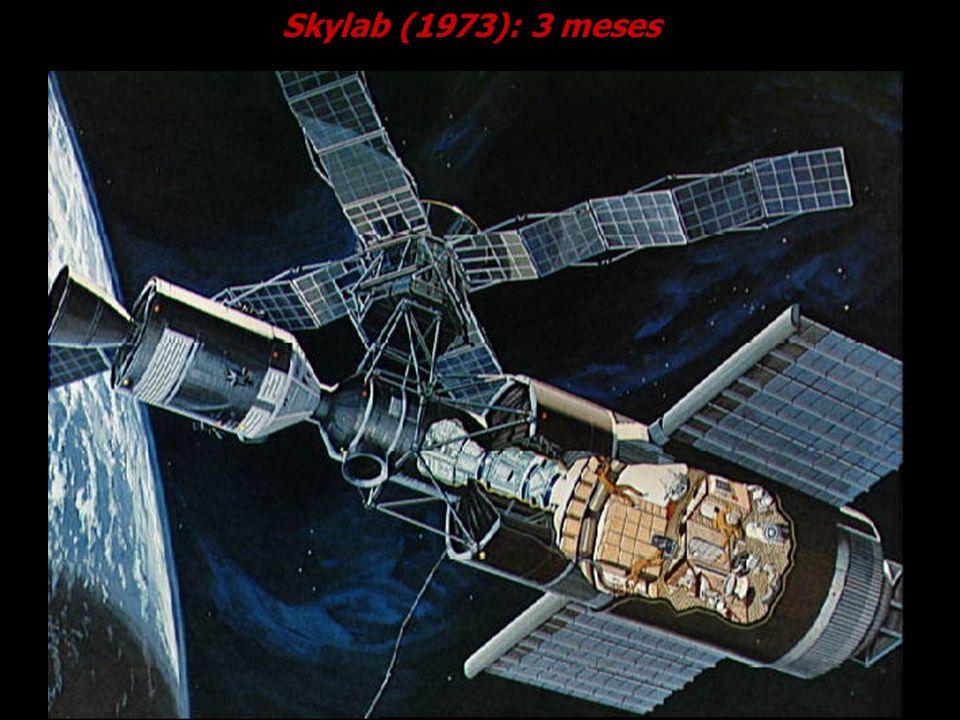 Skylab (1973): 3 meses
