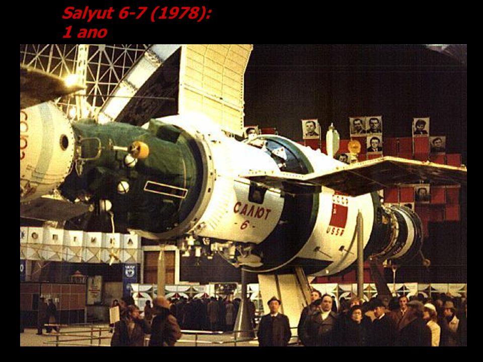 Salyut 6-7 (1978): 1 ano