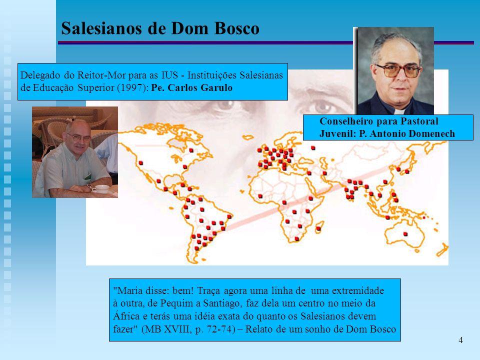 4 Salesianos de Dom Bosco Maria disse: bem.