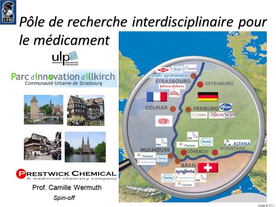 Pôle de recherche interdisciplinaire pour le médicament eliezer 2011 Spin-off Prof. Camille Wermuth