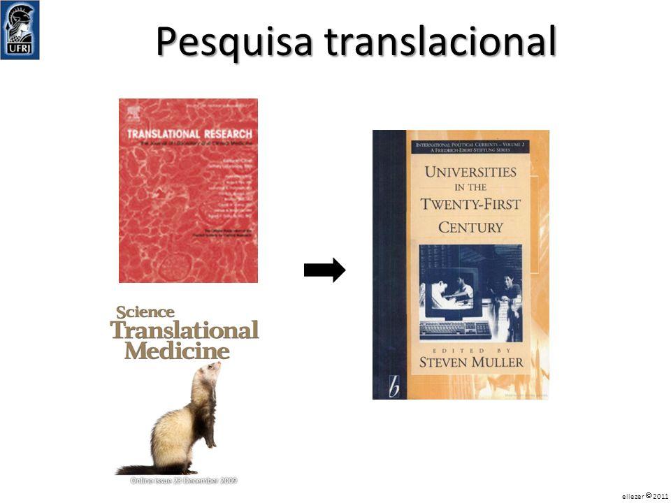 Pesquisa translacional eliezer 2011