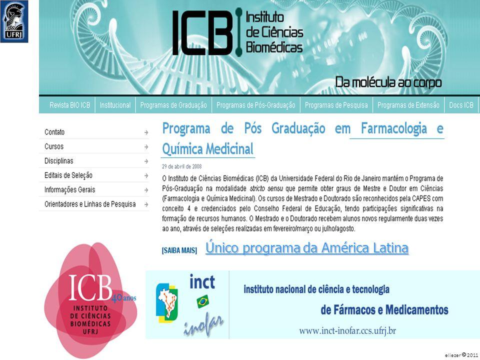 Único programa da América Latina eliezer 2011
