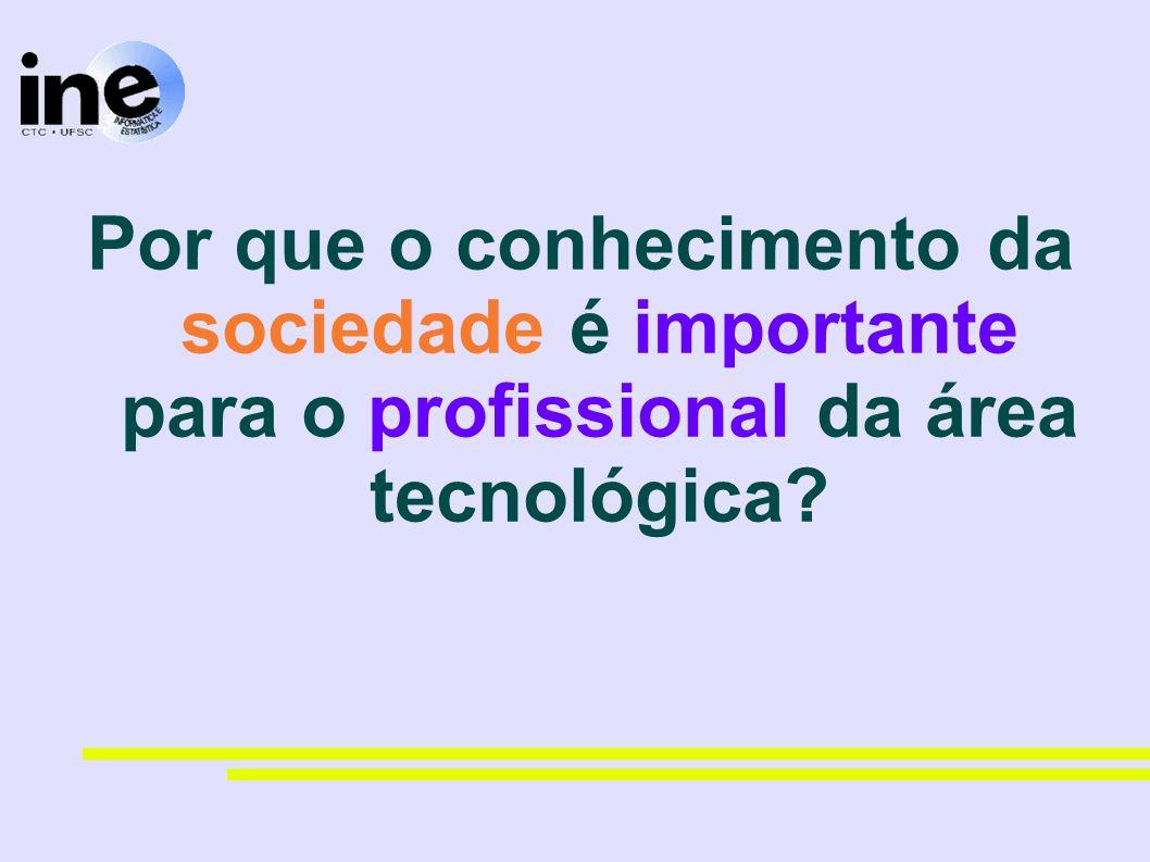 Por que o conhecimento da sociedade é importante para o profissional da área tecnológica?