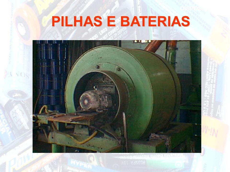 DISPOSIÇÃO PILHAS E BATERIAS