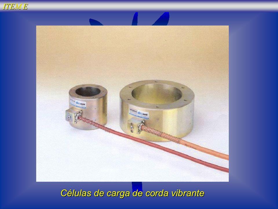 Células de carga de corda vibrante ITEM E