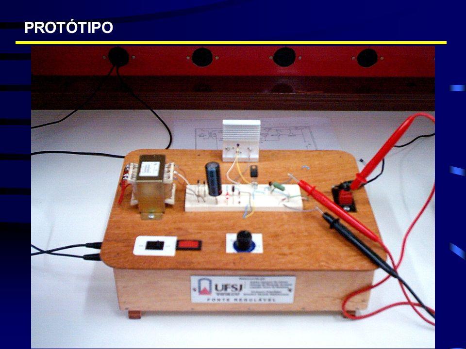 Divide-se em duas etapas Referência de tensão Amplificação de corrente REGULAÇÃO