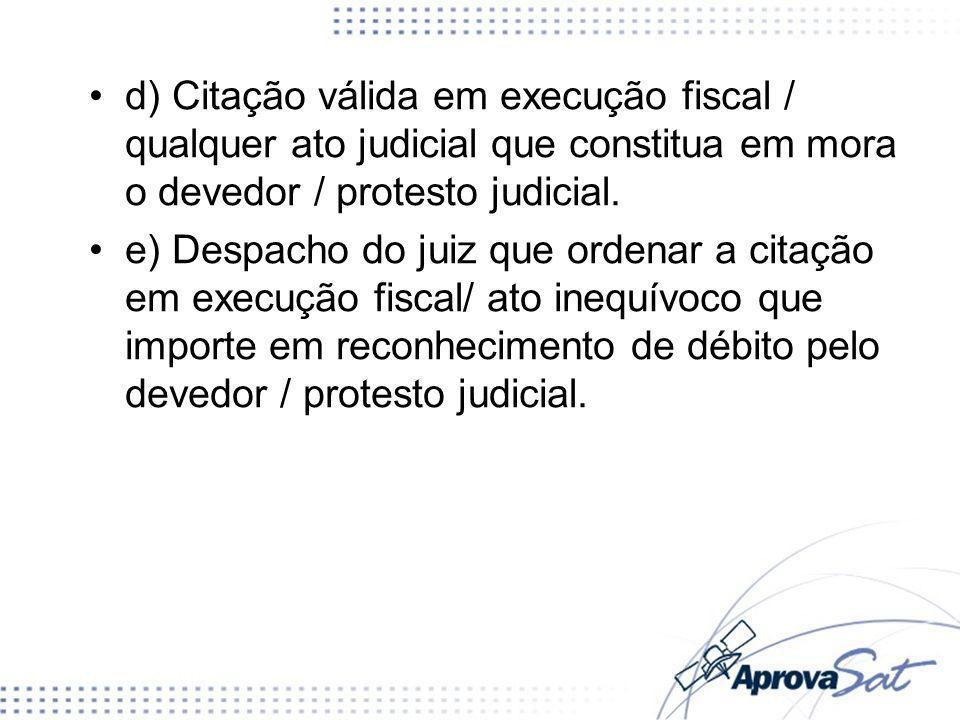 D) domicílio anterior conhecido da autoridade fiscal E) o lugar da situação dos bens ou da ocorrência dos atos ou fatos que deram origem à obrigação