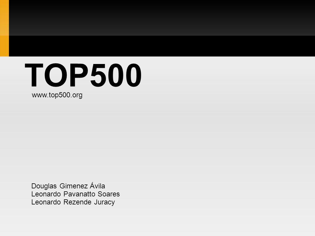 TOP500 www.top500.org Douglas Gimenez Ávila Leonardo Pavanatto Soares Leonardo Rezende Juracy