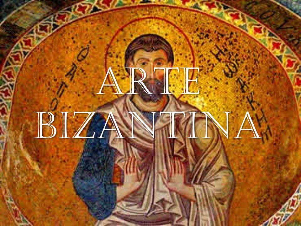 ESCULTURA NA ARTE BIZANTINA A escultura bizantina não se separou do modelo naturalista da Grécia, e ainda que a Igreja não estivesse muito de acordo com a representação estatuária, não obstante, essa foi a disciplina artística em que melhor se desenvolveu o culto à imagem do imperador.