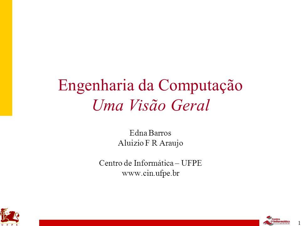 22 EC no CIn –Disciplinas Obrigatórias Matemática Física Comunicações Controle Eletrônica Computação