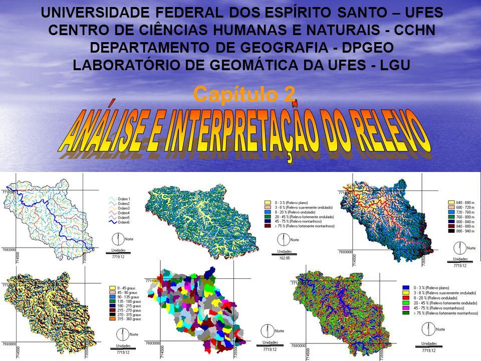 1.0 Introdução A cor da representação da altimetria do terreno na carta é, em geral, o sépia.