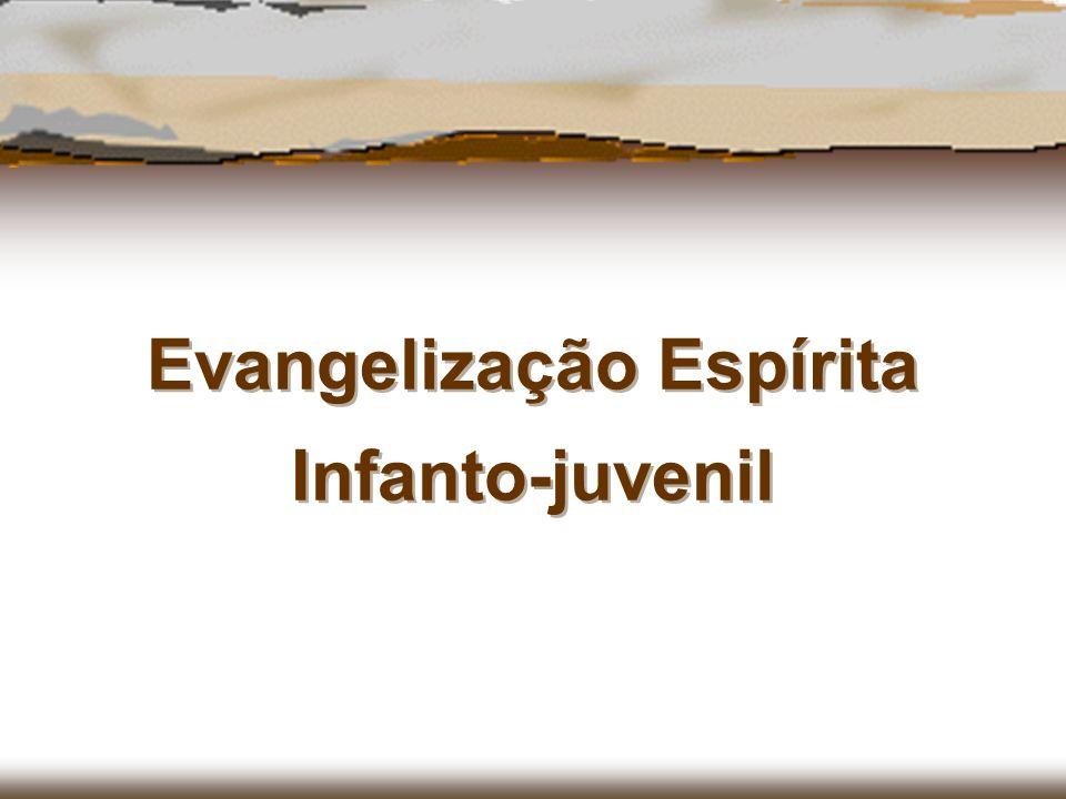 A denominação de Evangelização Espírita Infanto-Juvenil se dá à transmissão do conhecimento espírita e da moral evangélica pregada por Jesus que foi apontado pelos Espíritos superiores, como modelo de perfeição para toda a Humanidade.