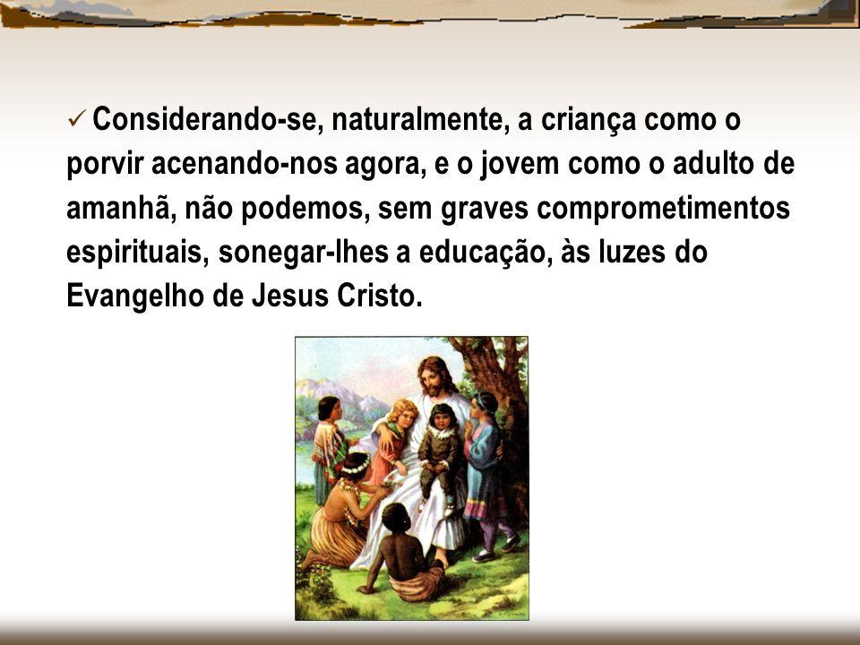 Como os Espíritos situam, no conjunto das atividades da Instituição Espírita, a tarefa da Evangelização Espírita Infanto-Juvenil.