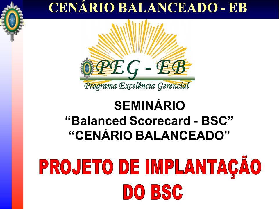 CENÁRIO BALANCEADO - EB 1.Introdução 2. Escopo do Projeto 3.