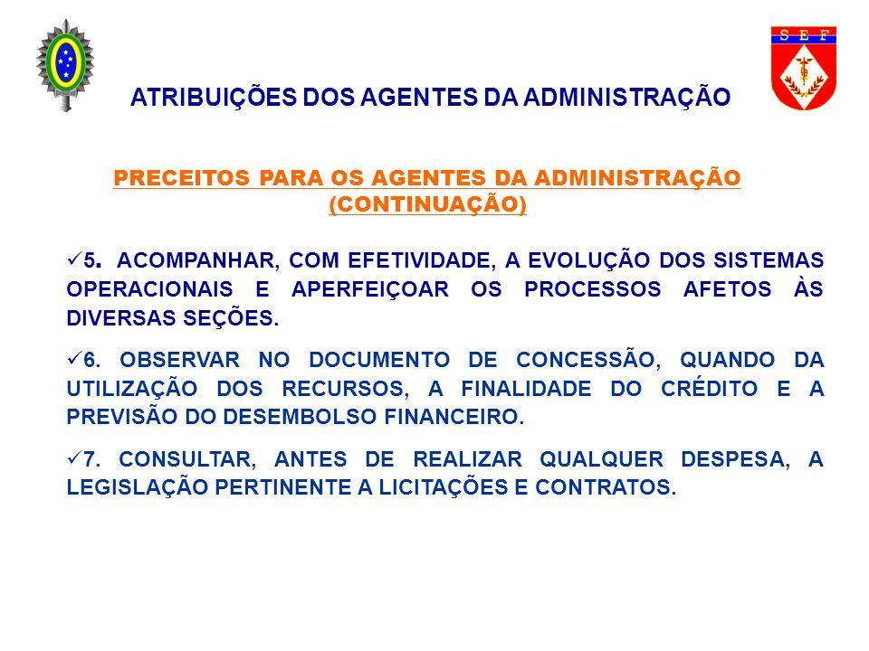 ENCARREGADO DA CONFORMIDADE DOS REGISTROS DE GESTÃO O ENCARREGADO DA CONFORMIDADE DOS REGISTROS DE GESTÃO É O RESPONSÁVEL PELA CERTIFICAÇÃO E VERIFICAÇÃO DOS DOCUMENTOS COMPROBATÓRIOS DAS OPERAÇÕES RELATIVAS AOS ATOS E FATOS DE GESTÃO ORÇAMENTÁRIA E FINANCEIRA, PRATICADOS PELA UNIDADE GESTORA, E PELO ARQUIVAMENTO DE TODA DUCUMENTAÇÃO RELATIVA AOS MESMOS.