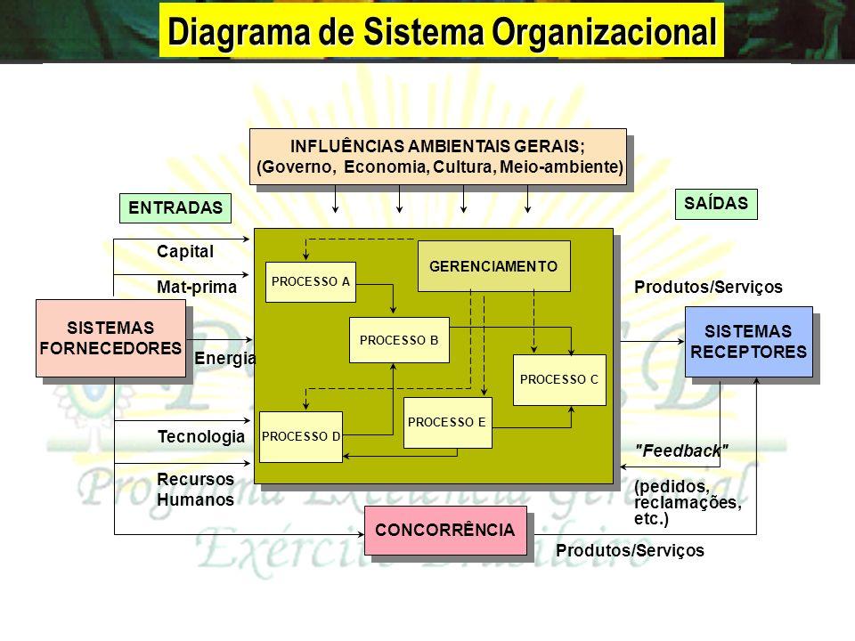 O centro prático da ação da gestão de excelência é o processo, entendido como um conjunto de atividades inter-relacionadas ou interativas que transfor