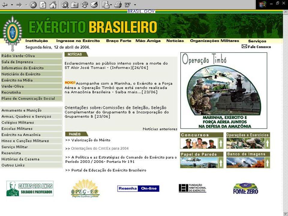 SENHA: gestaoEB2006