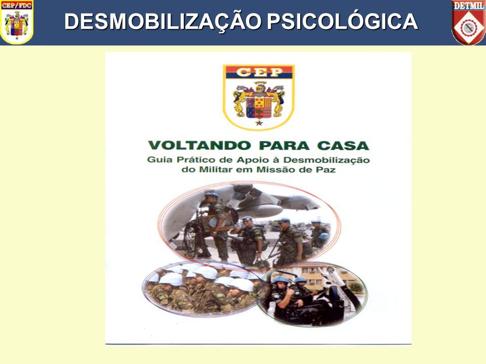 DESMOBILIZAÇÃO PSICOLÓGICA