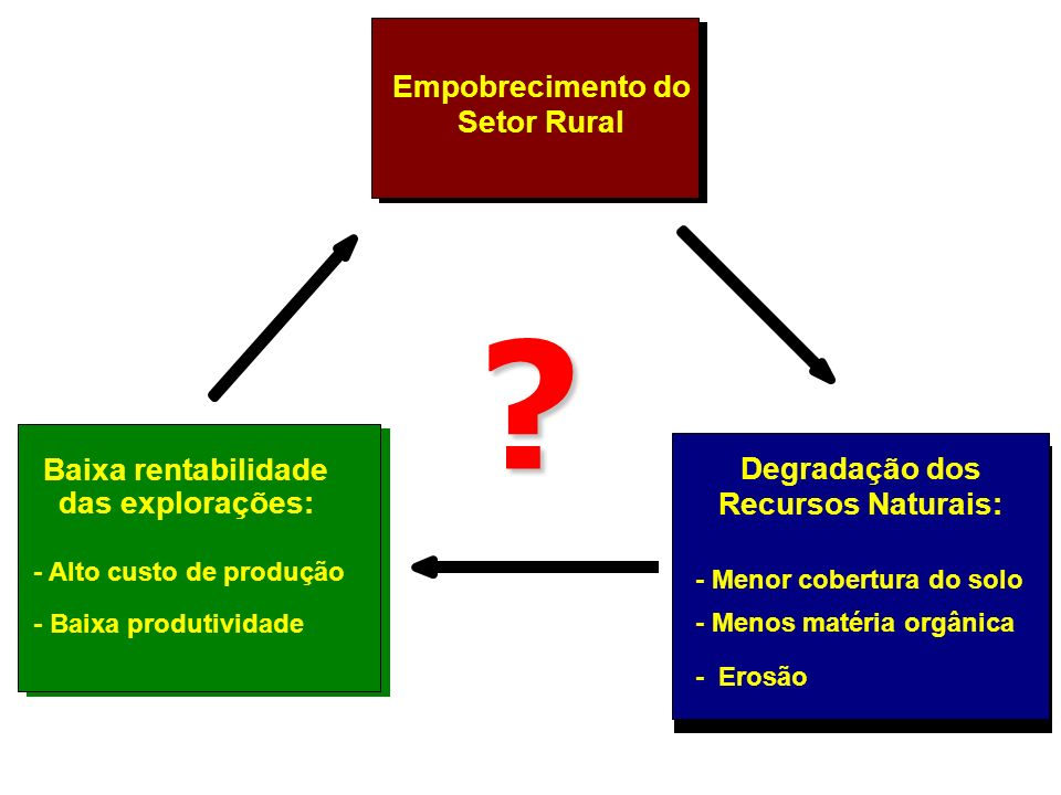 1970 AGRICULTURA 1980 – 1990 AGRICULTURA X MEIO AMBIENTE 2007 AGRICULTURA + MEIO AMBIENTE AGRICULTURA E MEIO AMBIENTE AVANÇO