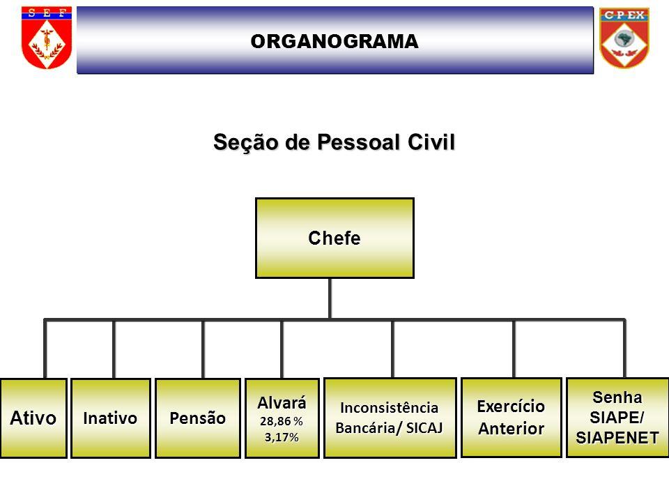 FUNCIONAMENTO O CPEX REALIZA O PROCESSAMENTO DO PAGAMENTO DE PESSOAL CIVIL DE 495 UNIDADES ORGANIZACIONAIS (U ORG) SENDO 320 ORGANIZAÇÕES MILITARES COM ACESSO AO SIAPE.