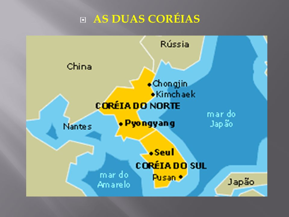 AS DUAS CORÉIAS