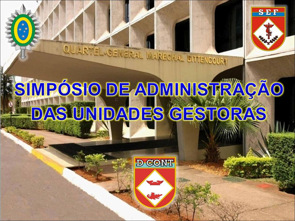 ORIENTAÇÕES DIRETORIA DE CONTABILIDADE EXECUÇÃO FINANCEIRA AO ENCARRREGADO DO SETOR FINANCEIRO 5.