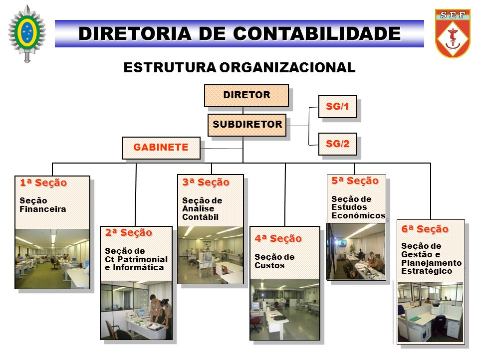 CONTABILIDADE PATRIMONIAL DIRETORIA DE CONTABILIDADE AO FISCAL ADMINISTRATIVO: 1.Assessorar o Ordenador de Despesas na Reunião de Prestação de Contas Mensal (RPCM), demonstrando a conciliação dos saldos contábeis das contas do RMA, do RMB e do Relatório Sintético de Depreciação, considerando as informações do SIAFI, SISCOFIS e SISPATR.