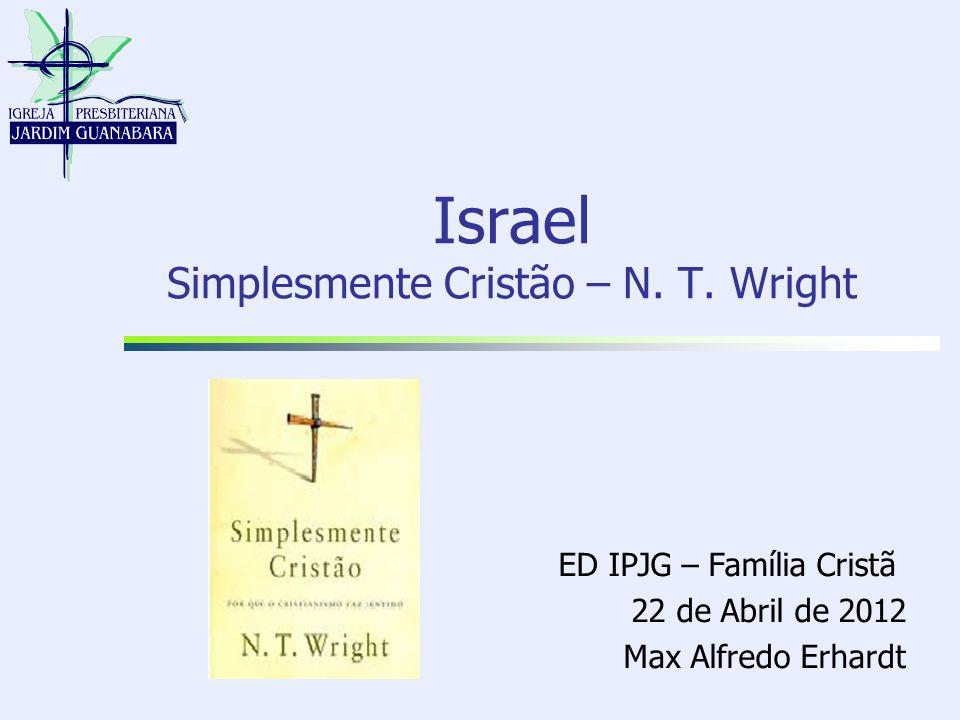 9/11/2013Max Alfredo Erhardt2 Introdução Para entendermos e termos uma clara visão de mundo cristã é fundamental que os acontecimentos relacionados a Jesus de Nazaré sejam o clímax da longa história de Israel.