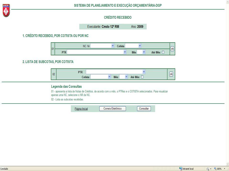 Depois de ter dado um click em NOVO, uma nova tela surgirá, então dê um click em AQUI para gravar o registro.