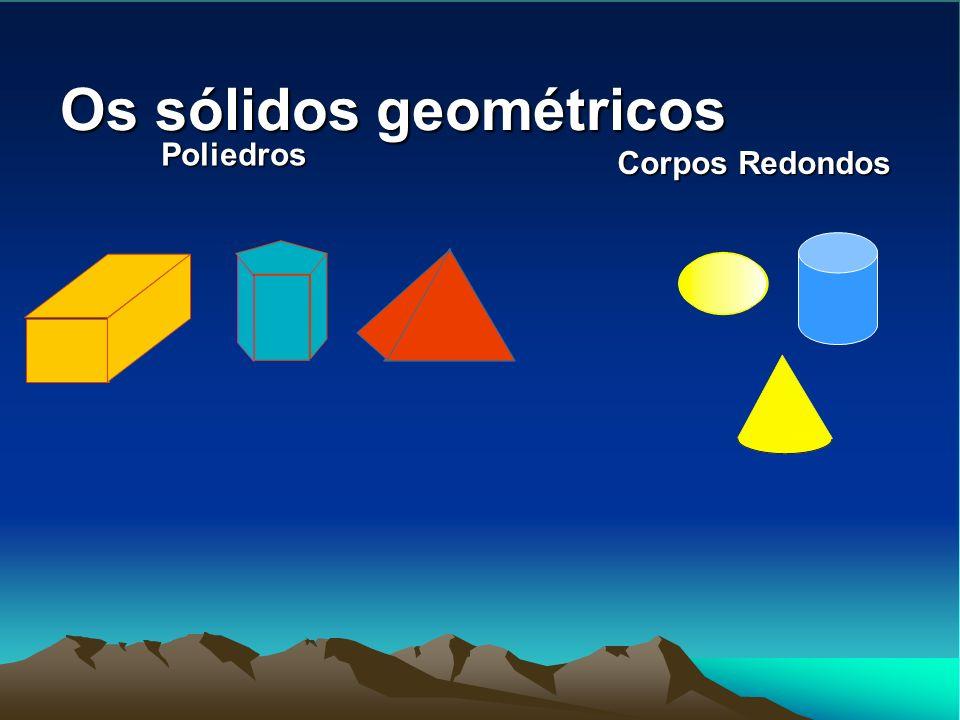 Os sólidos geométricos Poliedros Corpos Redondos