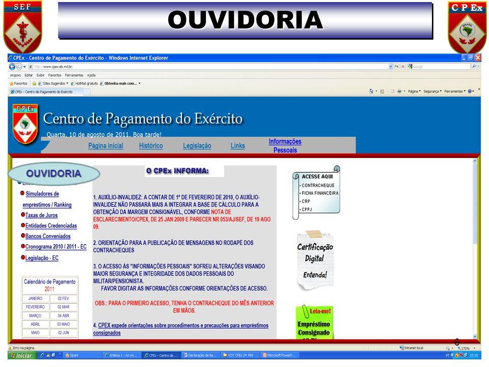 EBCorp Sistema de Identificação SIPPES NOVO SISTEMA DE PAGAMENTO DE PESSOAL DADOS DE PESSOAL DADOSDE PAGAMENTO PAGAMENTO 37