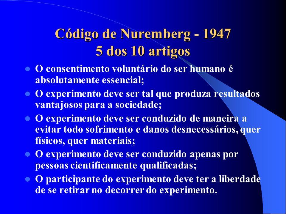 Consentimento livre e esclarecido Sujeitos expostos a condicionamentos específicos ou influência de autoridade (estudantes, militares, empregados, pre