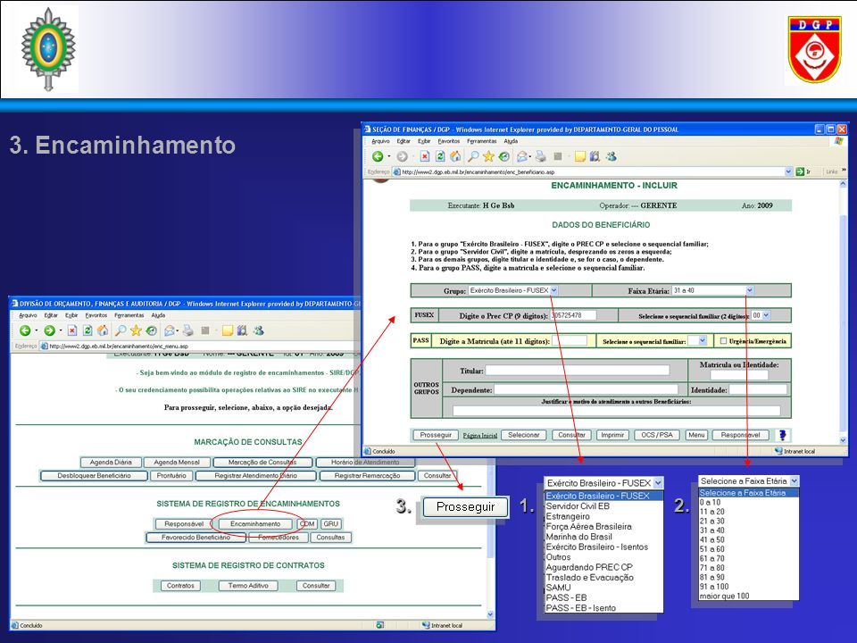 3.3. Seleção de Procedimentos Por Texto Contratado