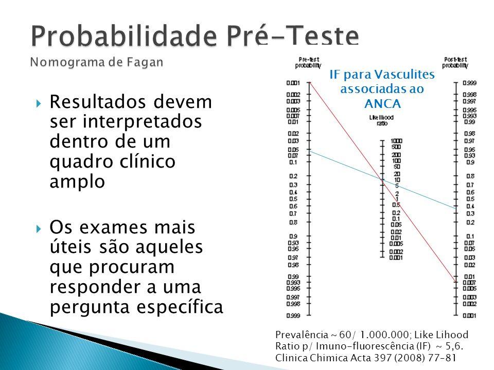 Resultados devem ser interpretados dentro de um quadro clínico amplo Os exames mais úteis são aqueles que procuram responder a uma pergunta específica
