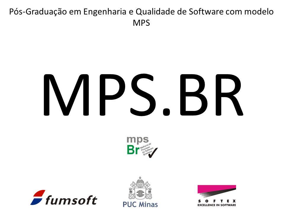MPS.BR Pós-Graduação em Engenharia e Qualidade de Software com modelo MPS