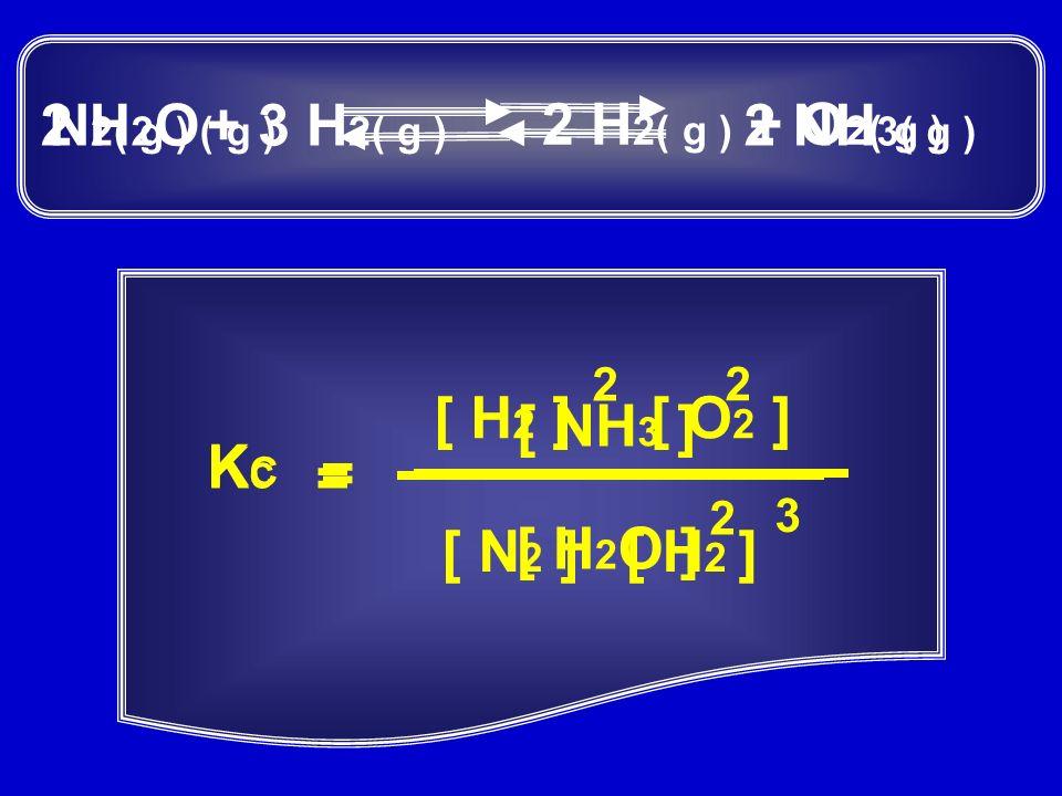 Vamos analisar o equilíbrio abaixo: Cr 2 O 7 1 2 2 H 2 – + H2OH2O 2 CrO 4 2 – + + alaranjada amarela O acréscimo de uma base deixa a solução amarela, deslocando o equilíbrio para a direita O acréscimo de um ácido deixa a solução alaranjada, deslocando o equilíbrio para a esquerda