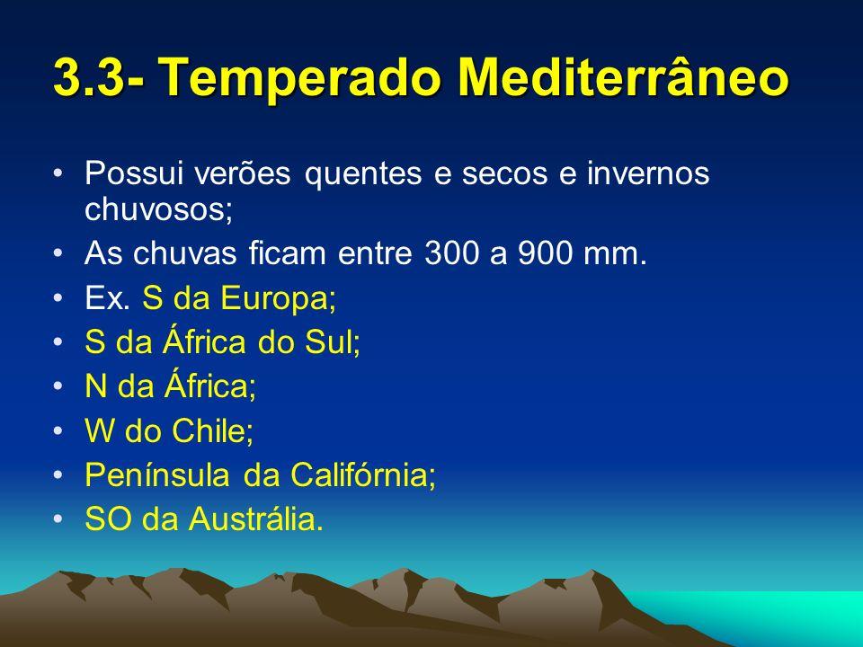 4- Clima Frio Polar; Montanhas; Continental.