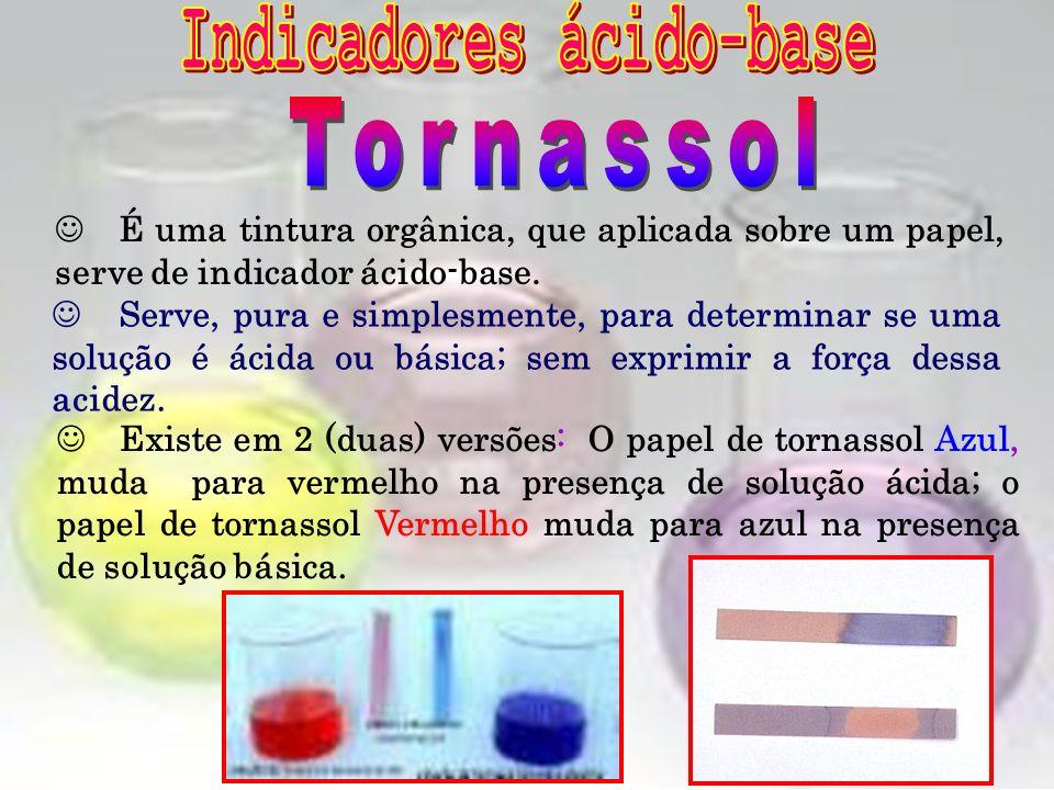 Essa substância, além de ser indicadora de ácidos e bases, pode ser utilizada como Laxante. Sua fórmula molecular é C 20 H 14 O 4. Dependendo da acide