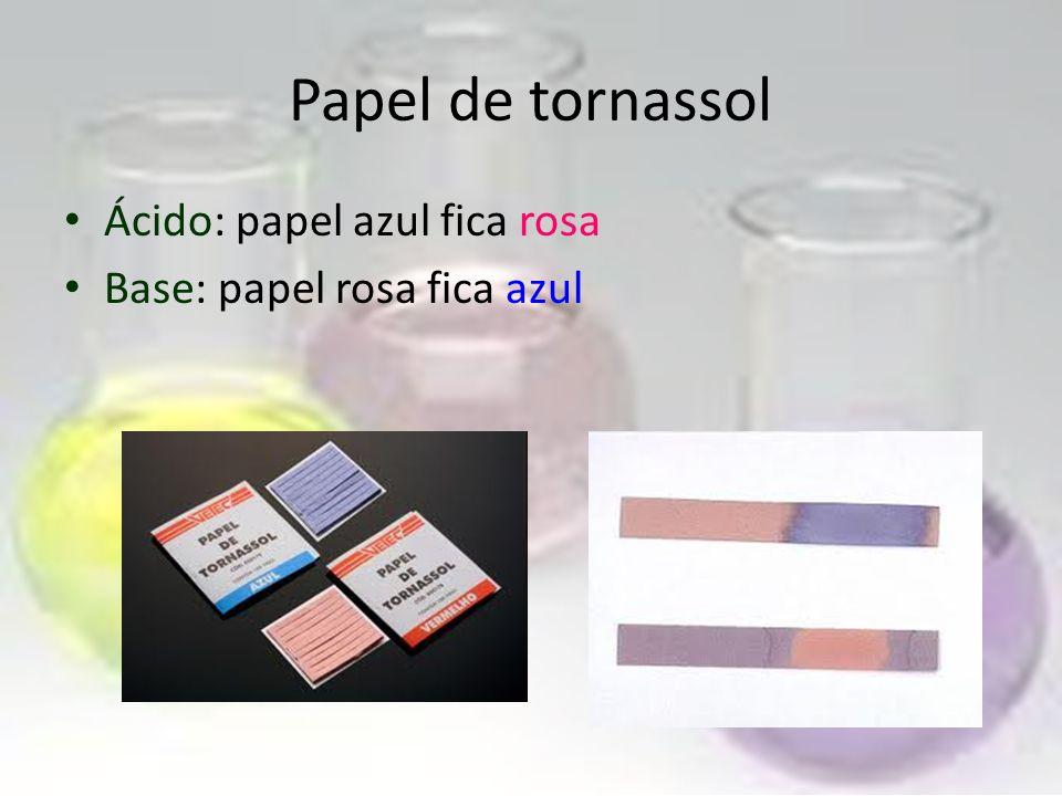 É uma tintura orgânica, que aplicada sobre um papel, serve de indicador ácido-base. Serve, pura e simplesmente, para determinar se uma solução é ácida