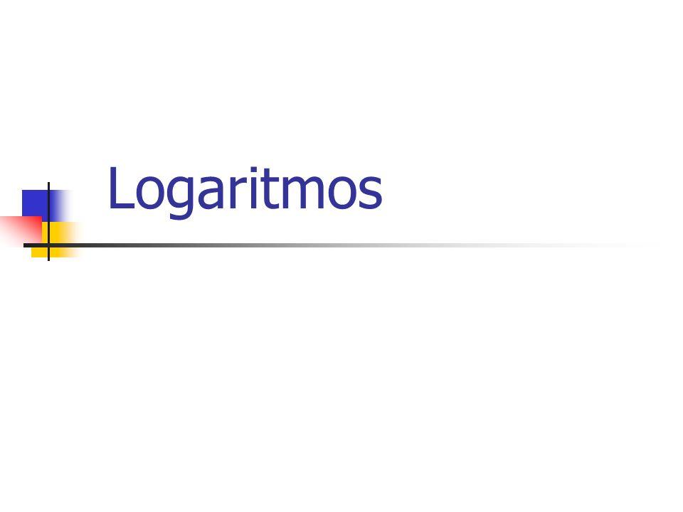 Logaritmos Segunda Propriedade: O logaritmo de um quociente é igual ao logaritmo do dividendo menos o logaritmo divisor, tendo mesma base.