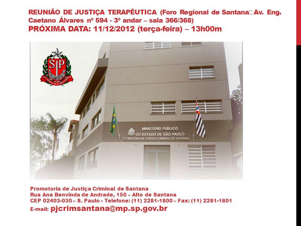 A experiência da justiça terapêutica em são Paulo S Mário Sérgio Sobrinho pjcrimsantana@mp.sp.gov.br
