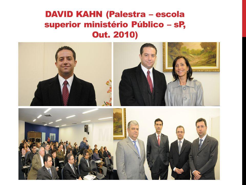 TARA KUNKEL (Palestra – escOLA superior ministério Público – sP, MAIO 2012)