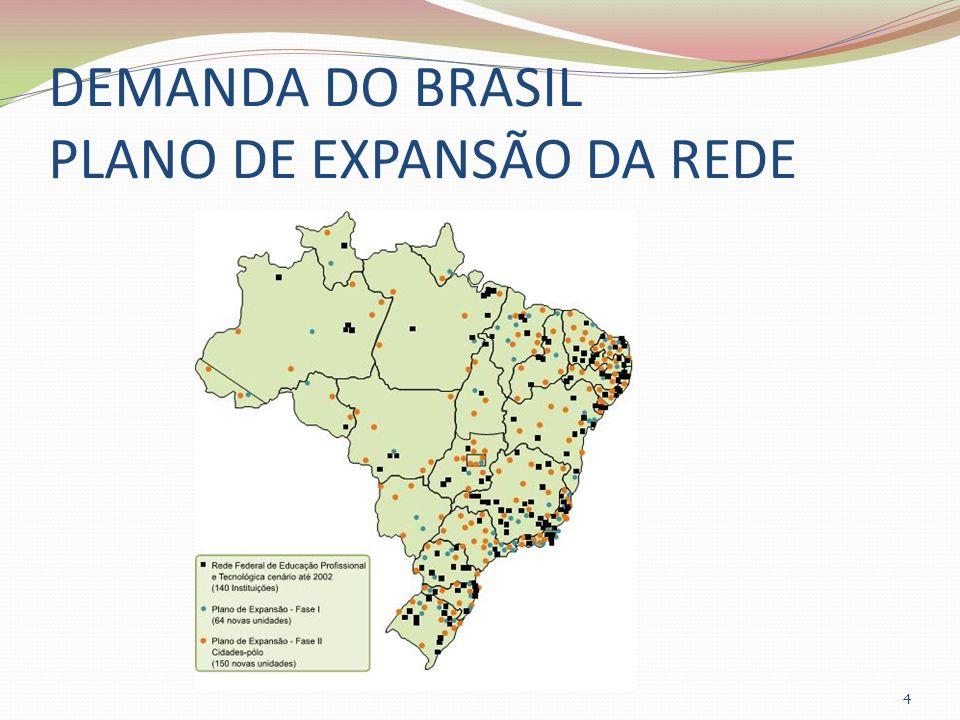 DEMANDA DO BRASIL PLANO DE EXPANSÃO DA REDE 4