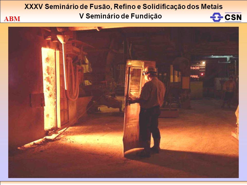 XXXV Seminário de Fusão, Refino e Solidificação dos Metais V Seminário de Fundição ABM