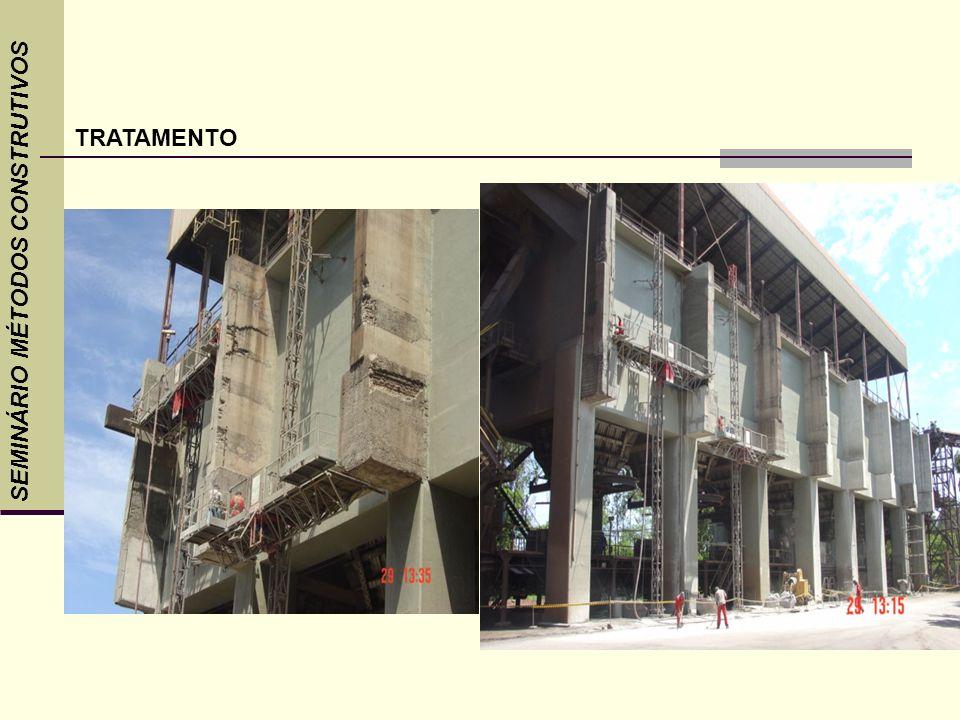 SEMINÁRIO MÉTODOS CONSTRUTIVOS TRATAMENTO