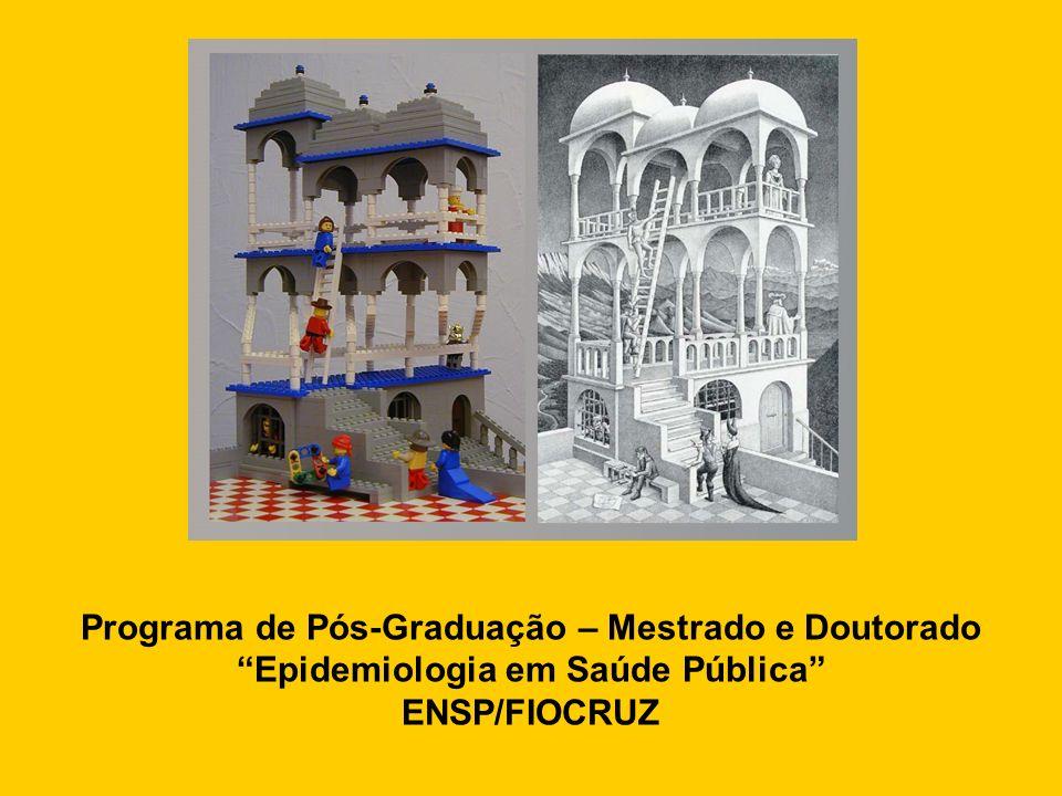 Programa de Pós-Graduação – Mestrado e Doutorado Epidemiologia em Saúde Pública ENSP/FIOCRUZ