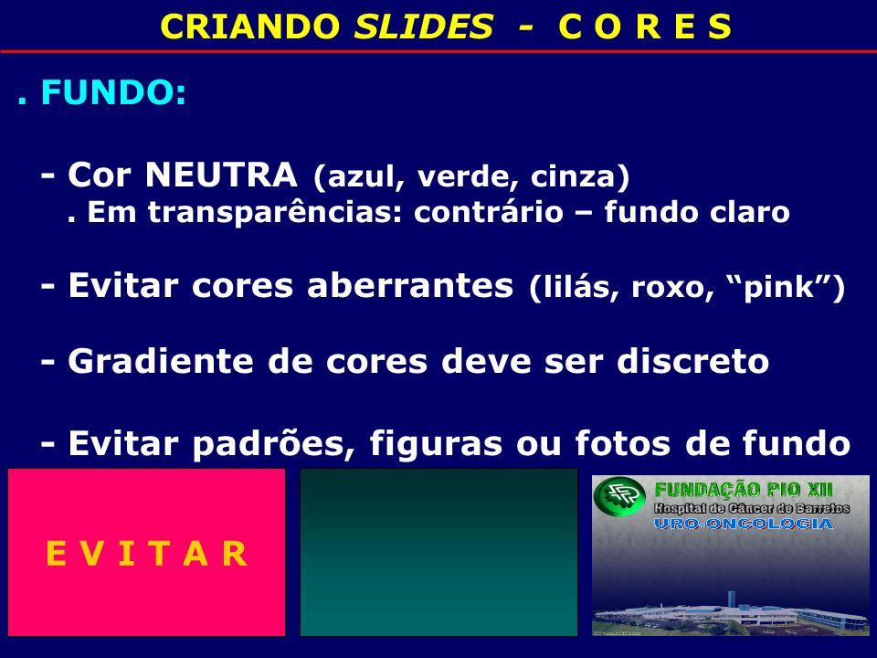 6 CRIANDO SLIDES 4- LETRAS:.